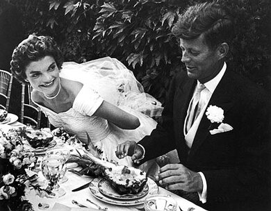 Jackie O and JFK Wedding