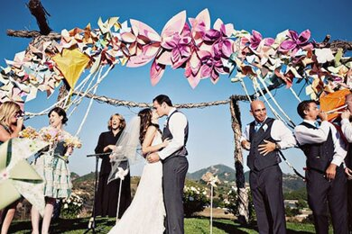 Wedding Decorations on This Week On Pinterest   Unique Wedding Ceremony Backdrops   Elegala